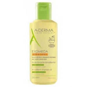 A-Derma EXOMEGA emolijentno ulje za tuširanje - čišćenje kože