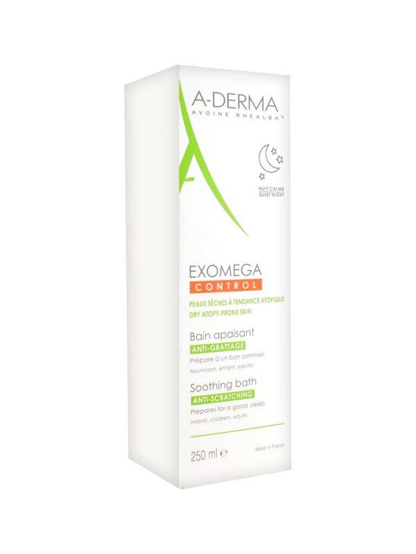 A-Derma Exomega Control umirujuća kupka - vlaženje i umirenje kože