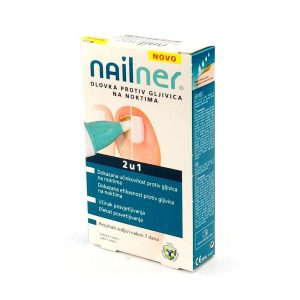 Nailner olovka protiv gljivičnih infekcija noktiju 2 u 1