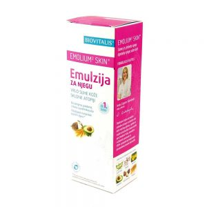 Biovitalis Emulzija za njegu vrlo suhe kože sklone atopiji Emolium² skin