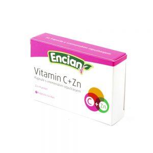 Encian Vitamin C+Zn