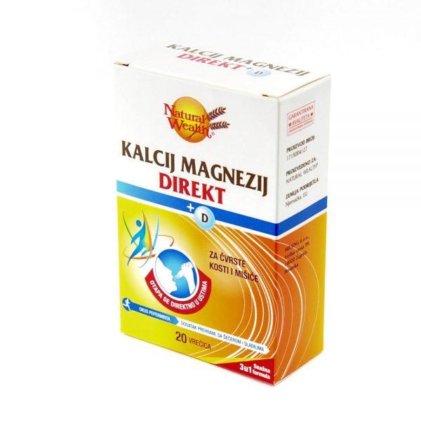 Natural Wealth® Kalcij Magnezij Direkt+D