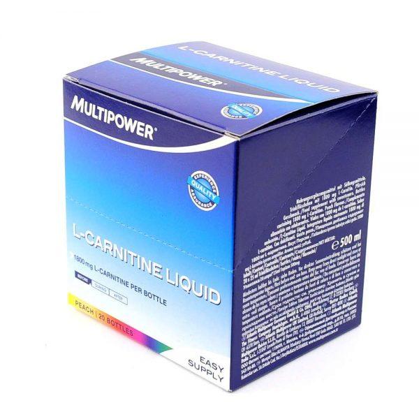 Multipower L-carnitine liquid, 20 x 25 mL