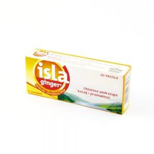 Isla®ginger pastile, 30 pastila