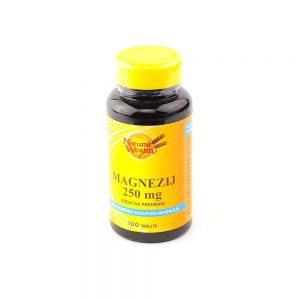 Natural Wealth® Magnezij 250 mg
