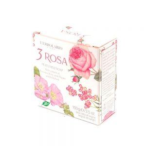 L'erbolario 3 Rosa sapun za pranje tijela
