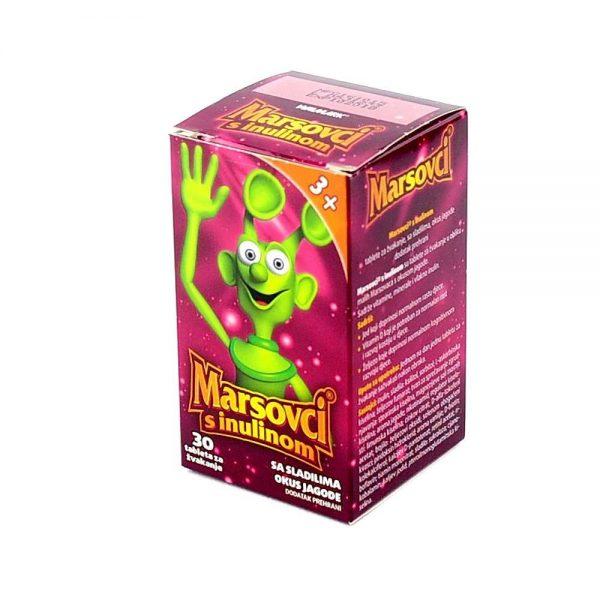 Marsovci®s inulinom, 30 tableta za žvakanje