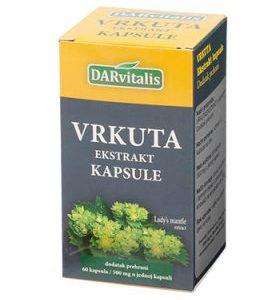 Darvitalis Vrkuta ekstrakt 500 mg, 60 kapsula