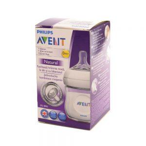 Philips Avent Bočica za bebe Natural 0 mj+, 125 mL