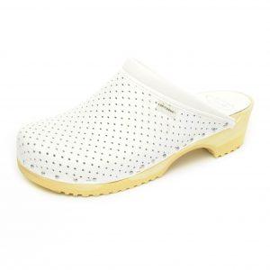 Klompe Kopitarna 2202 - prava perforirana koža, olakšava disanje stopala