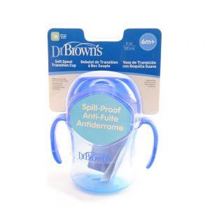 Dr.Brown's Trening čaša meki kljun 6mj+, 180 mL