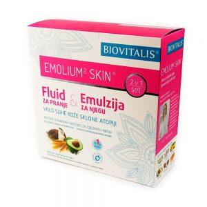 Biovitalis Emolium² skin Set 2 u 1