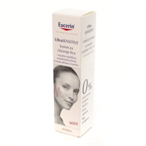 Eucerin® UltraSensitive losion za čišćenje lica, 100 mL