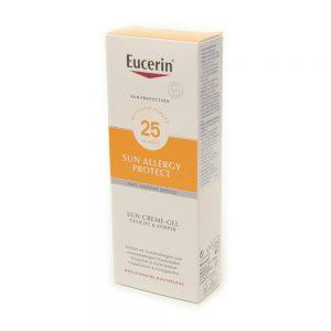 Eucerin® Sun krema-gel za zaštitu kože osjetljive na sunce SPF25
