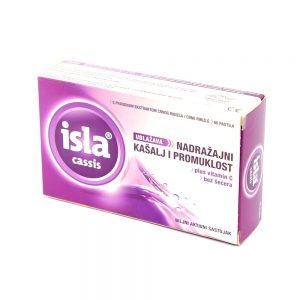 Isla®cassis pastile, 60 pastila