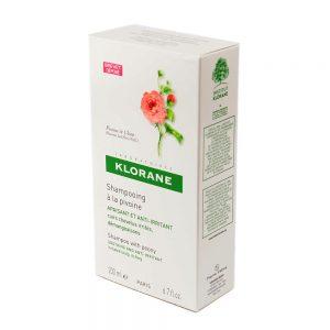 Klorane Umirujući šampon s božurom, 200 mL