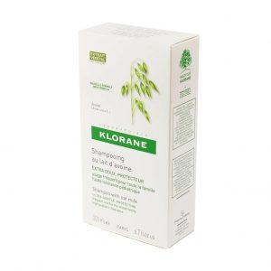 Klorane Šampon sa zobenim mlijekom, 200 mL