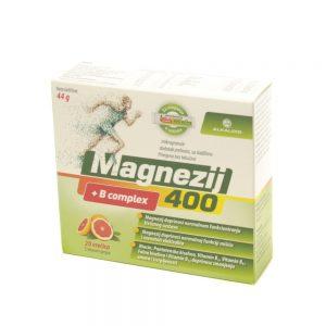 Magnezij 400+B complex Alkaloid, 20 vrećica