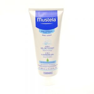 Mustela 2u1 gel za pranje kose i tijela, 200 mL