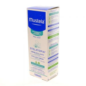 Mustela Stelatopia® emolijentna krema, 200 mL