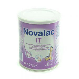 Novalac IT - početna mliječna hrana za posebne prehrambene potrebe dojenčadi sa zatvorom
