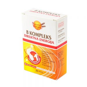 Natural Wealth® B kompleks Direktna energija