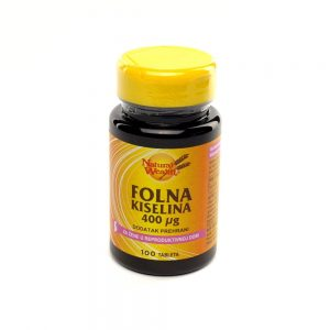 Natural Wealth® Folna kiselina