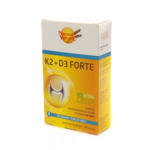 Natural Wealth® K2+D3 Forte, 20 kapsula