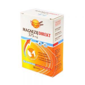 Natural Wealth® Magnezij DIREKT 375 mg
