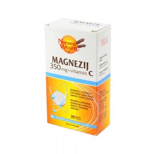 Natural Wealth® Magnezij 350 mg+vitamin C