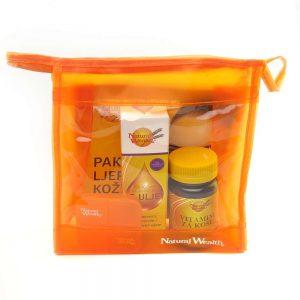 Paket za ljepotu kose, kože i noktiju (Vitamini za kosu + E-ulje)