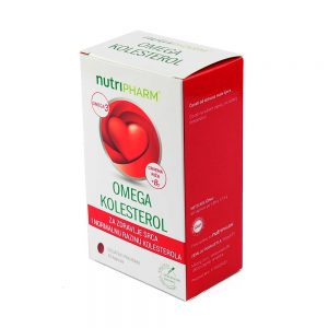 Nutripharm® Omega kolesterol, 60 kapsula