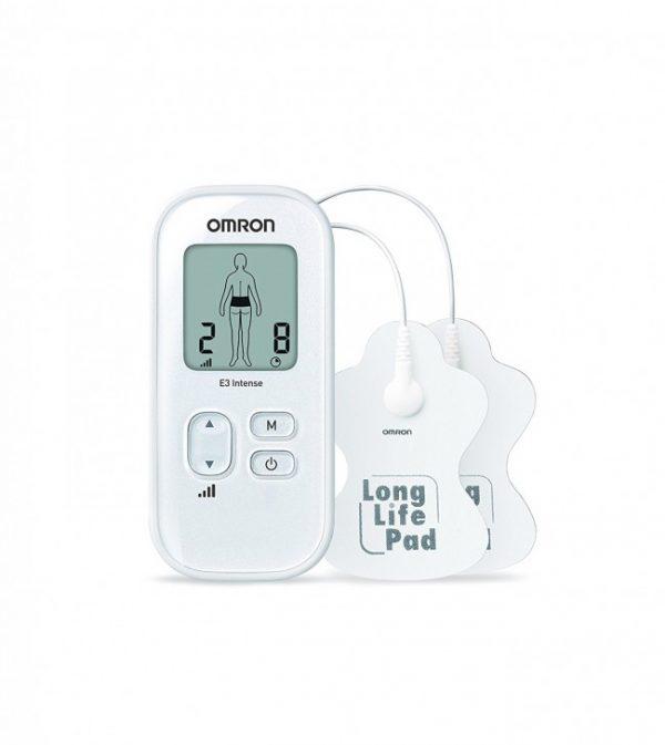 Omron elektrostimulator TENS E3 za napetost, umor i bol u mišićima