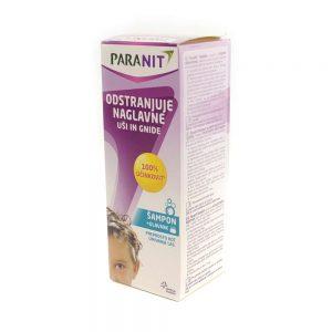 Paranit šampon za odstranjivanje uši i gnjida + češalj