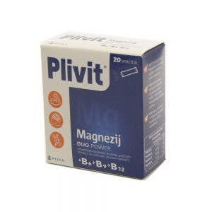 Plivit Magnezij Duo Power, 20 vrećica