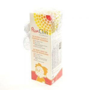 PoxClin ® Pjena za hlađenje za vodene kozice