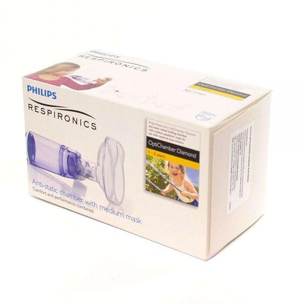 Philips Respironics OptiChamber Diamond 1-5