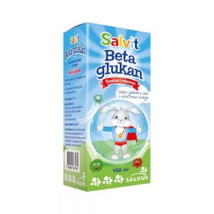 Salvit Beta glukan sirup, 150 mL