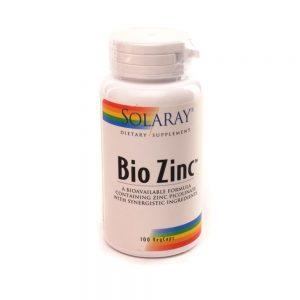 Solaray Bio Zinc kapsule, a100