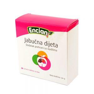 Encian Jabučna dijeta, 20 šumećih tableta