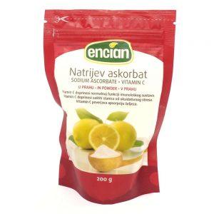 Encian Natrijev askorbat, vitamin C u prahu 200g