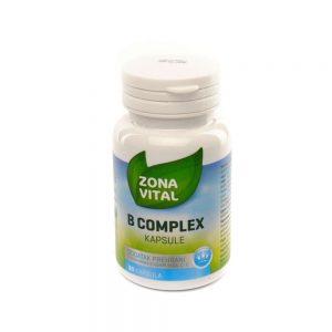 Zona Vital B complex kapsule, 30 kapsula