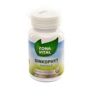 Zona Vital Ginkophyt, 60 kapsula