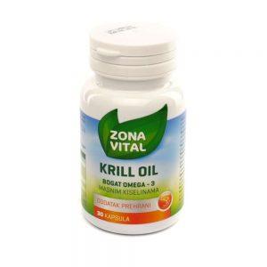 Zona Vital Krill Oil, 30 kapsula