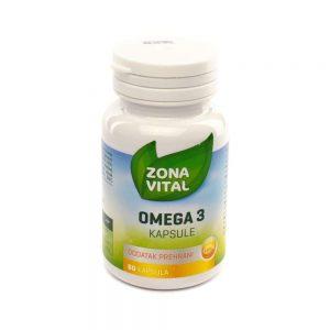Zona Vital Omega 3, 60 kapsula
