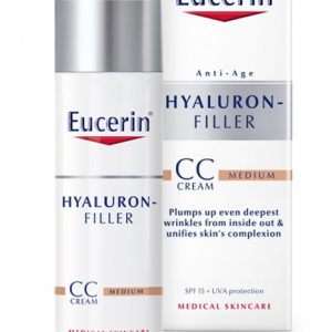 Eucerin Hyaluron-Filler CC krema sa SPF 15 - korekcija bora