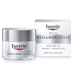 Eucerin Hyaluron-Filler dnevna krema za normalnu i mješovitu kožu 50 mL