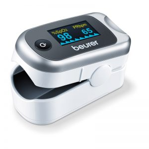 Pulsni oksimetar Beurer PO40 - zasićenje krvi kisikom (SpO2)